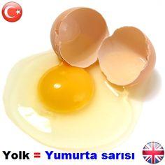     #yolk = #yumurtasarısı     °•●•°     #okunuşu = youk     °•●•° °•●•°     #wordsenglish #englishwords #englishlearning #teacher #student #study #words #learning #translator #translate #dictionary #ceviri #cevirmen #sozluk #sozcuk #ingilizce #turkce #kelime #phoenixdictionary    