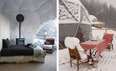 WHITEPOD SWITZERLAND These 15 geodesic pods come with wood-burning fireplaces for those cool and cozy evenings, organic-cotton sheets and private bathrooms. The pods are decorated with a minimalist yet groovy type decor. It's a great place to come all year round and the dramatic seasonal landscapes are sure to please everyone. www.awesomefamilyadventures.com