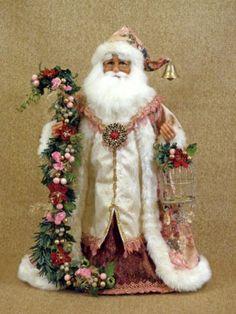 pictures of victorian SANTA DECORATIONS | Karen Didion Victorian Santa Claus Collectible Doll Figurine ...