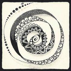 Enthusiastic Artist: Spiral crazy!