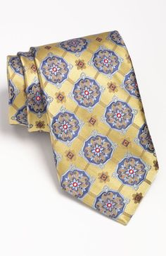 Shop Men's Robert Talbott Ties on Lyst. Track over 617 Robert Talbott Ties for stock and sale updates. Naguib Mahfouz, Tie Pattern, Tied Shirt, Neck Ties, Fine Men, Tie Knots, Real Men, Clothes Horse, Beautiful Patterns