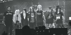 Guns N' Roses Bring Down The House At Their Historic  'not In This Lifetime Tour' Kick Off In Detroit - http://myglobalmind.com/2016/06/24/guns-n-roses-bring-house-historic-not-lifetime-tour-kick-off-detroit/