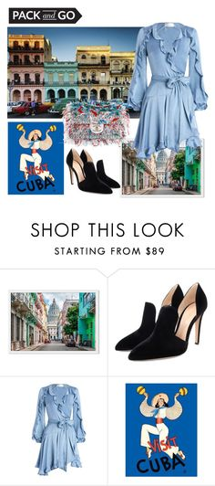 """""""Cuba"""" by consuelor ❤ liked on Polyvore featuring Gianvito Rossi, Zimmermann and Packandgo"""