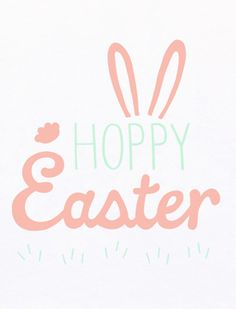 easter, easter cards, rabbit, bunny, hoppy easter