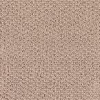 Carpet Sample - Morningside - Color Toasted Tan Loop 8 in. x 8 in.