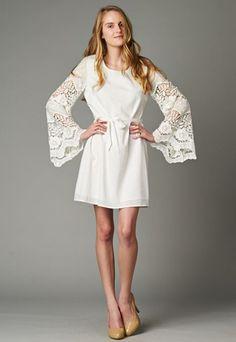 These sleeves can't get any better! Shop Indigo Bleu www.indigobleufashion.com #boho #bohemian #fashion #indigobleufashion