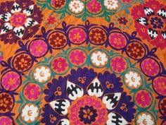 Uzbek Suzani - detail