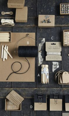 Paper goods can make or break how publishable a wedding is. when you bring your invitations, remember to include any details that pertain to making it or your wedding.  stamps, calligraphy pens, twine, ribbon, anything.  all of these items pictured above might give some inspiration on what to use for your own invites.
