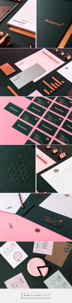 Hexarem - Branding on Behance - created via https://pinthemall.net