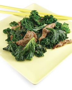 Ginger Beef and Kale, week 1 can still be tasty