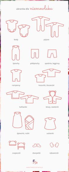 A newborn clothes types infographic - simple manual for a new parents :) Vogue Kids, Kimono Shirt, Baby Born, Newborn Outfits, Baby Time, First Baby, Baby Hacks, Cute Baby Clothes, New Parents
