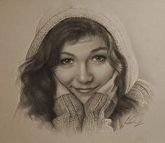 Kasia Cichopek….Pencil art by Dumage