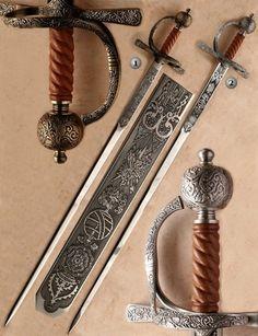 SIR FRANCIS DRAKE SWORDS
