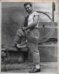 1937 Press Photo Bill Spiegel Halfback Michigan State College