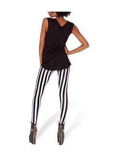 Omifa Striped Leggings | YESSTYLE