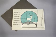 the perfect holiday card for architects, designers, and geeks in general...    http://www.etsy.com/listing/87011289/snow-globe-holiday-card-set-of-four ... check it out @tracycroysdale!