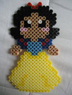 Snow White perler bead by *PerlerHime on deviantART