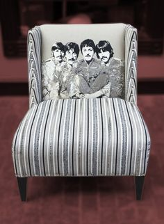 Andrew Martin SGT. Pepper Beatles Chair