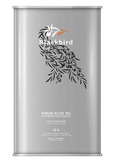 Blackbird virgin olive oil: Virgin Olive Oil Pure like the Lesvian Land Graphic Design Branding, Label Design, Identity Design, Package Design, Logo Design, Olives, Olive Oil Brands, Olive Oil Packaging, Olive Oil Bottles