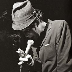What I wouldn't give to meet Tom Waits in a dark, seedy bar.