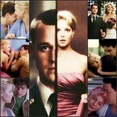 Izzie and George. This episode of Grey's Anatomy that I watched today struck me