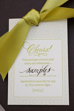 Beautiful Wedding Papers by The Lettered Olive