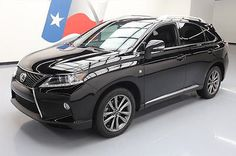 2014 Lexus RX 2014 LEXUS RX350 F-SPORT AWD SUNROOF NAV REAR CAM 34K #240947 Texas Direct Auto