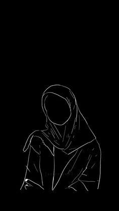 Islamic Wallpaper, Dark Wallpaper, Galaxy Wallpaper, Cartoon Girl Images, Girl Cartoon Characters, Aesthetic Art, Aesthetic Pictures, Cute Couple Wallpaper, Hijab Cartoon