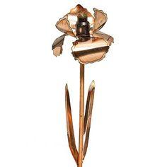 Artisan Handmade Copper Iris Sprinkler