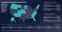 Heightened health habits and better medicine are curbing cancer's killing force in America as the nation's death rate from all malignancies dropped 23 percent during the past two decades, a new analysis shows. But declining rates of heart disease have made cancer the top cause of death in 21 states.