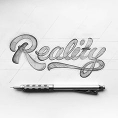 Beautiful lettering sketch by @piesbrand - #typegang - free fonts at typegang.com