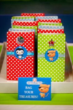 Octonauts Birthday Party Ideas | Photo 1 of 33 | Catch My Party