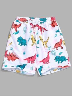 Camouflage Dabbing Unicorn Bowling Grey Camo Teen Swim Trunks Bathing Suit Shorts Board Beach