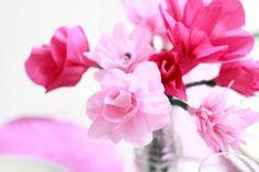 Papierblumen   we love handmade