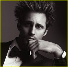GQ -shhh ... he's hot, lookin' like Einstein!