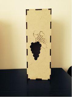 Weinbox als Präsentverpackung aus ECOR - Nachhaltiger Werkstoff für ökologisch angebauten Wein