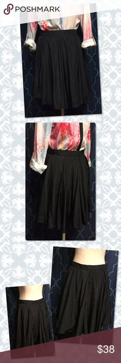❤Brand New American Apparel Black Swing Skirt❤ So fun!  This black skirt will transition flawlessly from work to play.  Pair it with your favorite blouse or buy mine. 😉 American Apparel Skirts
