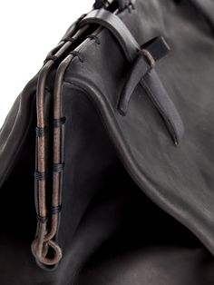 Leather bag detail