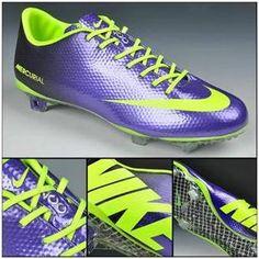 Buy Latest Listing Nike Mercurial Vapor IX FG Deep Purple fluorescent green  Football Boots On Sale 3f3b0415d2500