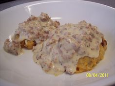 Low carb Sausage Gravy