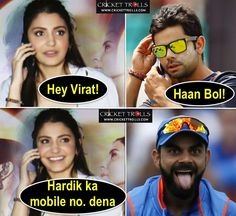 Anushka Sharma and Virat Kohli's leaked conversation #Justforfun For more cricket fun click: http://ift.tt/2gY9BIZ - http://ift.tt/1ZZ3e4d