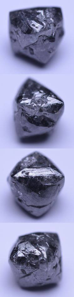 Rough Natural Diamonds 110733: 2.35 Carat Natural Rough Diamond Gem Irregular Octhaedron Black Opaque -> BUY IT NOW ONLY: $199.99 on eBay!