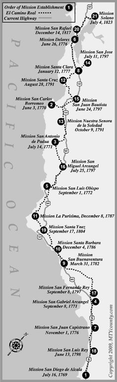 My next trip, visiting the Spanish Missions in CA.  Only the southern ones this time around.