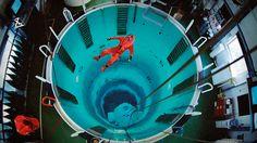 submarine escape training tank