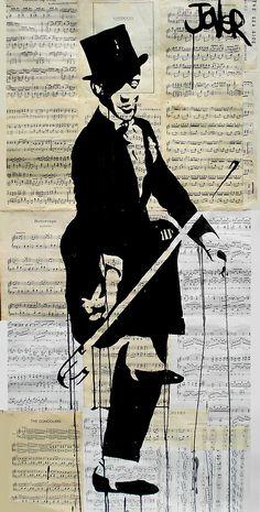 Loui Jover: dessins sur vieux papiers.