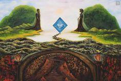 Título: Decisión de ser Obra de Arte en Oleo y Acrílico sobre tela.  Disponibilidad a la venta /For sale montserratmaciel.com