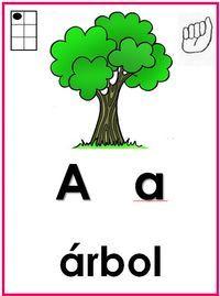 Abecedario ilustrado con señas de primer y segundo grado - http://materialeducativo.org/abecedario-ilustrado-con-senas-de-primer-y-segundo-grado/