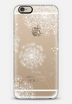 DANDY SNOWFLAKE Crystal Clear by Monika Strigel iPhone 6 case by Monika Strigel | Casetify