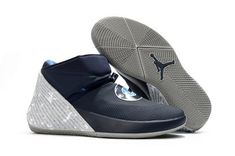 a4ada04c9ad Buy Jordan Why Not Zer0.1 Georgetown College Navy Pewter Grey Basketball  Shoes-3