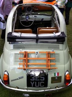 Always wanted one!! Vintage Fiat 500
